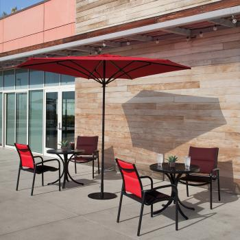 padded sling patio furniture