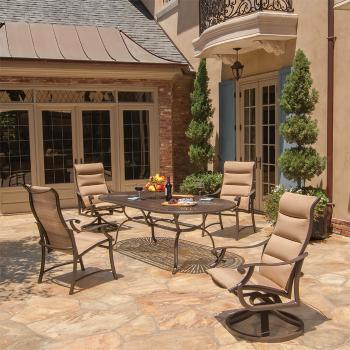 padded modern outdoor furniture