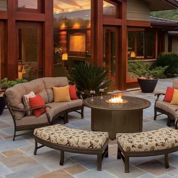 patio cushion crescent furniture