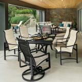 patio padded sling furniture